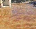 Driveway - Direct Acid Stain