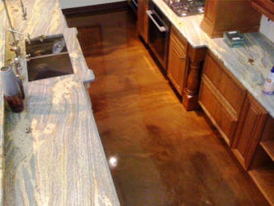 Metallic Epoxy Residential Flooring