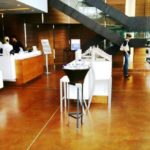 Stained Concrete Floors in a Business