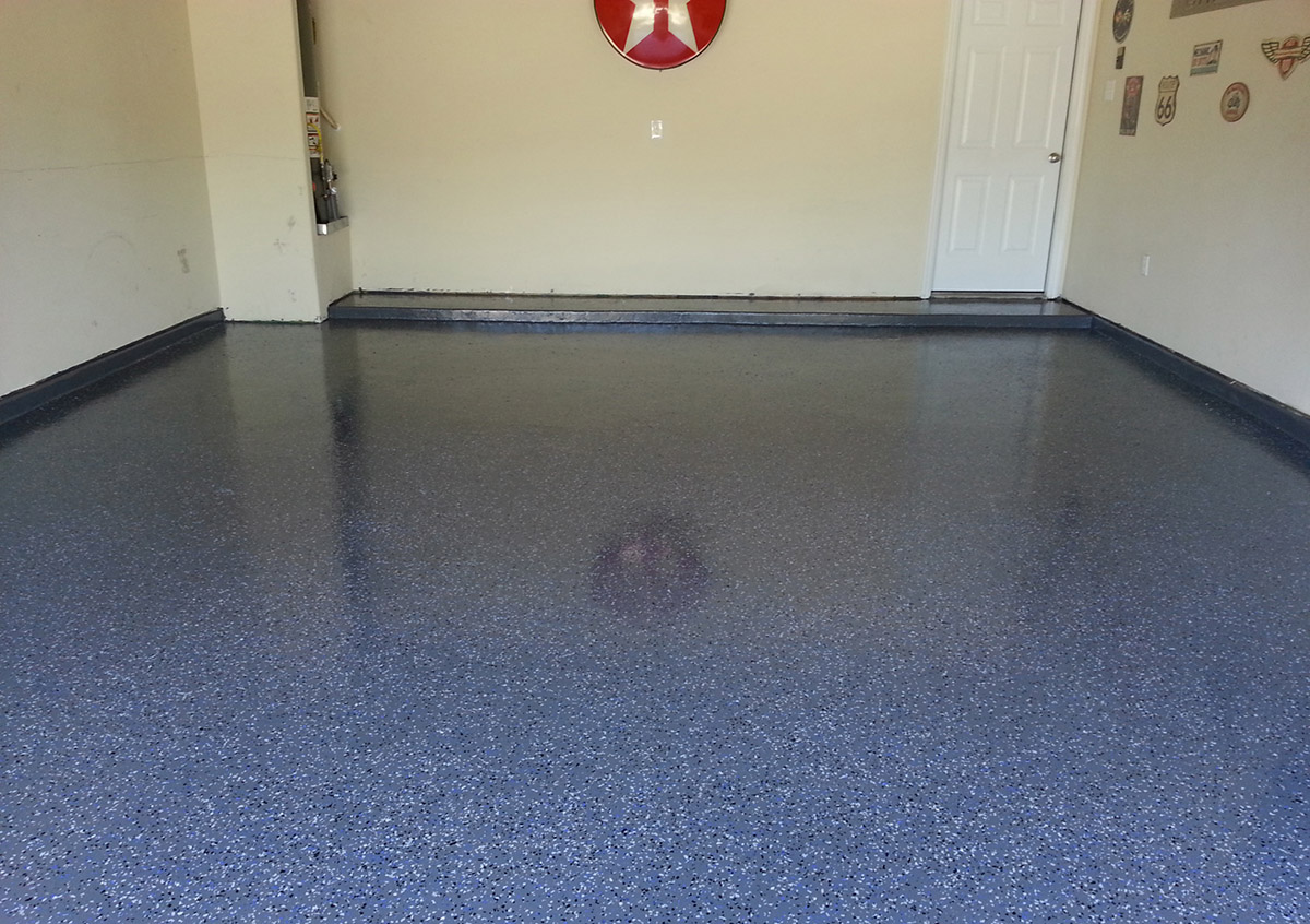 Concrete Garage Floor : Refinish renew your concrete garage floor stone medic