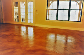 Tampa Concrete Staining
