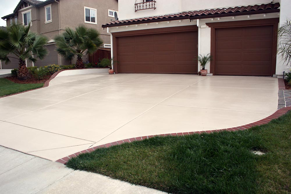 Concrete Driveway Staining