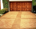 Driveway Stamped Concrete