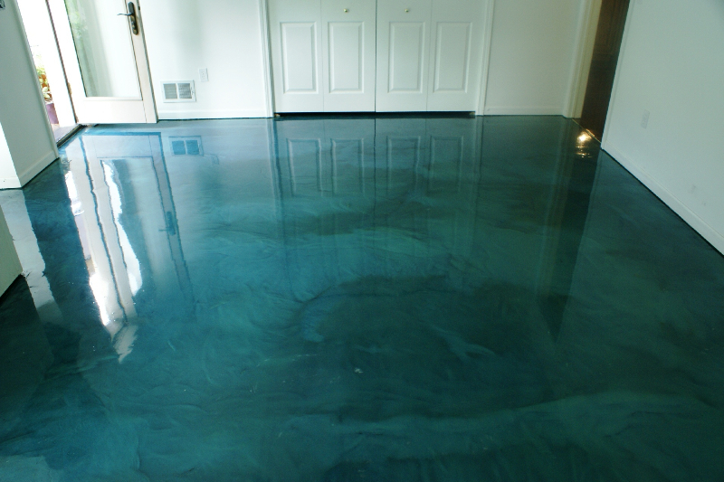 Metallic Epoxy Residential Floors