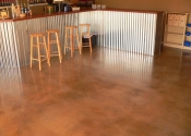 Tampa Polished Concrete Stained Overlay