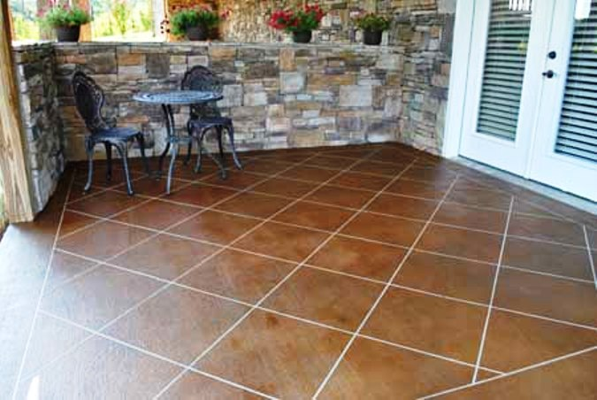 Tampa Bay Concrete Patio