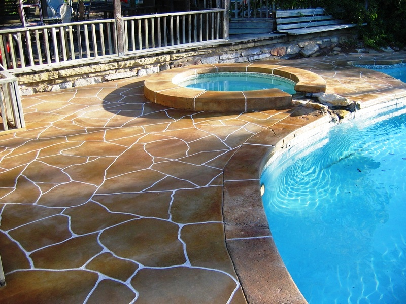 Tampa Decorative Concrete Overlays Stone Medic
