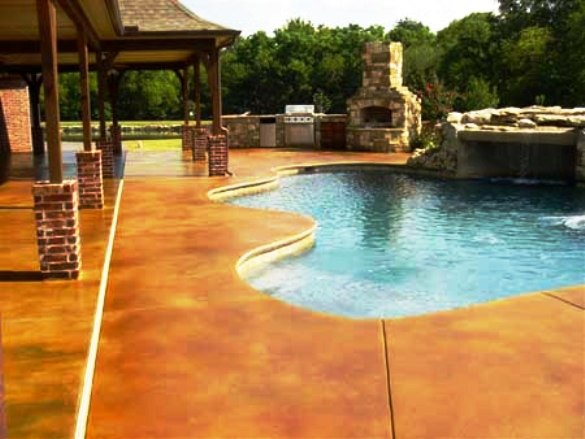 Decorative Concrete Surfaces Are The Perfect Decorative Flooring Surface  For Outdoor Patios, Pool Decks, Walkways And Entryways.