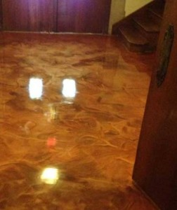 Residential Metallic Epoxy